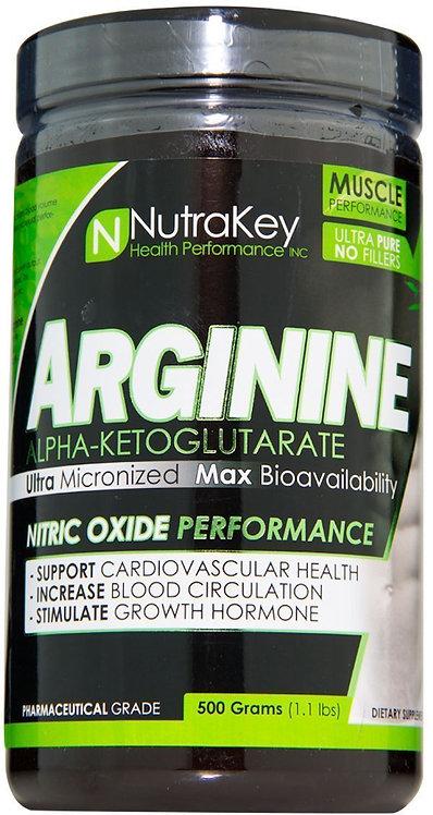 NutraKey Arginine AKG Powder 500gms