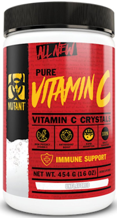 Mutant Nutrition Pure Vitamin C 824 servings