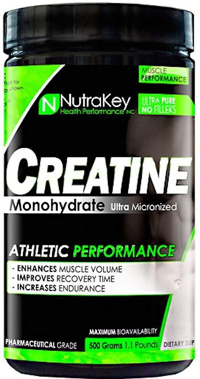NutraKey Creatine Monohydrate 500 gms