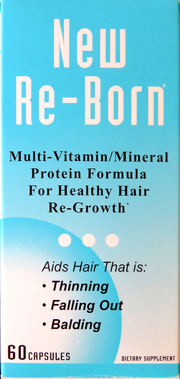 Health and Beauty New Re-Born Hair Vitamins