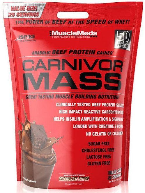 MuscleMeds Carnivor Mass Beef Protein 10 Lbs