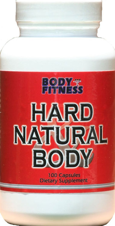 Body & Fitness Hard and Natural Body 100 caps CLEARANCE