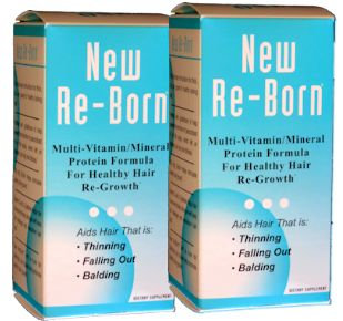 Health and Beauty New Re-Born Hair Vitamins Buy 1 Get 1 FREE