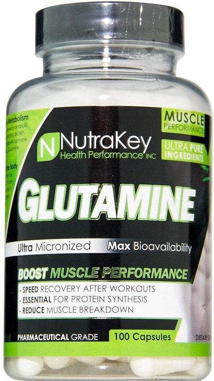 NutraKey Glutamine 100 Caps
