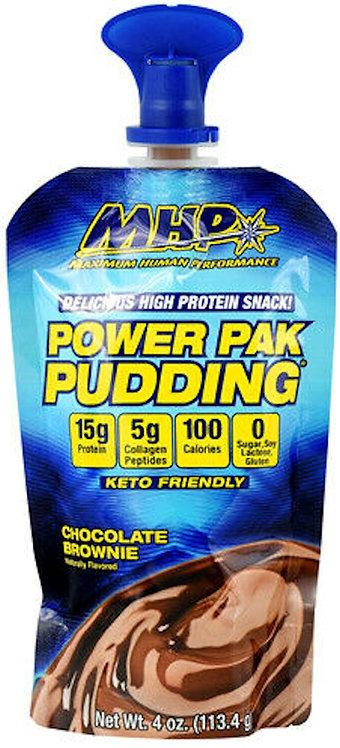 MHP Power Pouches Pudding 6 Pouches, 4 oz