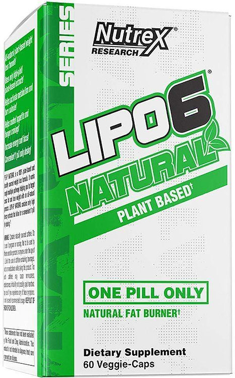 Nutrex Lipo 6 Natural 60ct