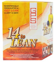 Free Gunnar Peterson 14 to Lean FREE with any Purchase (code: 14)
