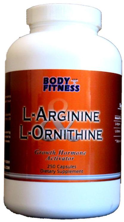 Body & Fitness L-Arginine & L-Ornithine