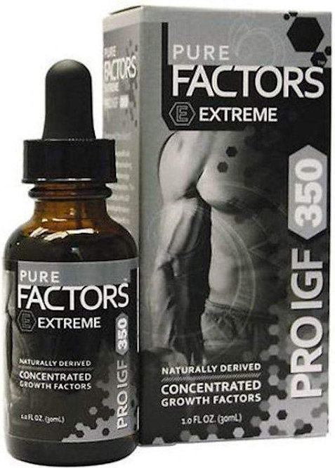 Pure Solutions Pure Factors Extreme Pro I.G.F. 350 11.7 mg 1 oz CLEARANCE SALE