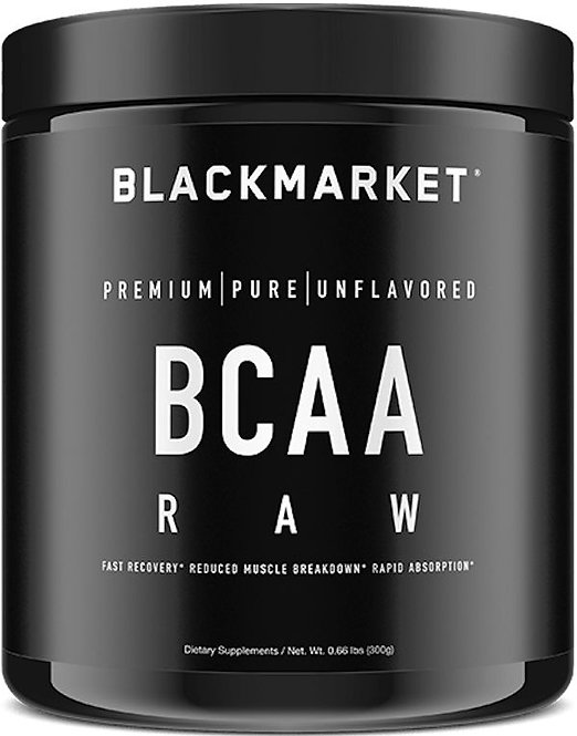 BlackMarket Labs BCAA Raw