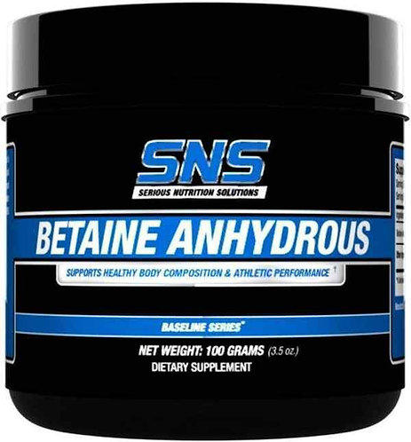 SNS Betaine Anhydrous 100 grams