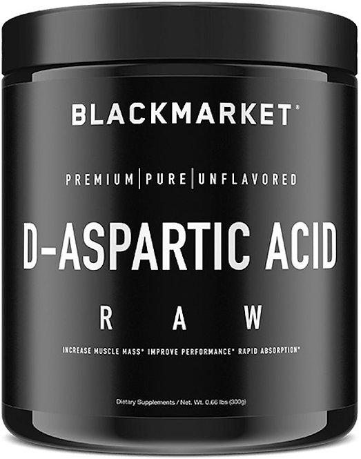 BlackMarket Labs D-Aspartic Acid Raw