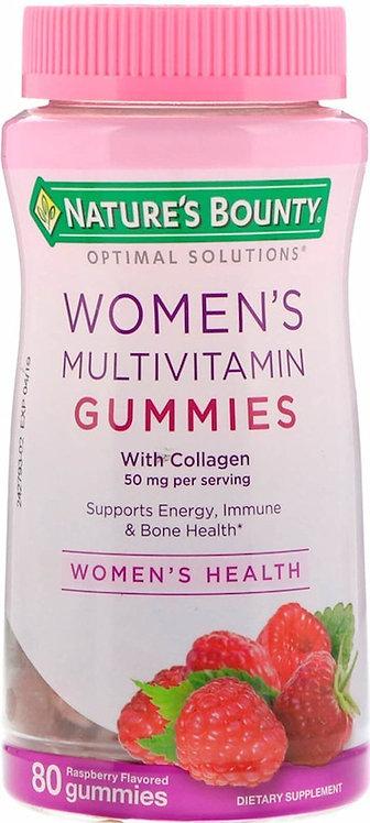 Nature's Bounty Women's Multivitamin Gummies 80 ct