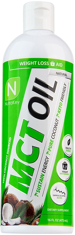 Nutrakey MCT Oil Liquid 16 oz