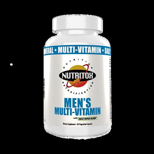 Nutritiox Men's Multi-Vitamins 60 veg Caps