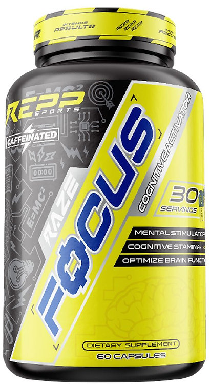 Repp Sports Raze Focus with caffeine