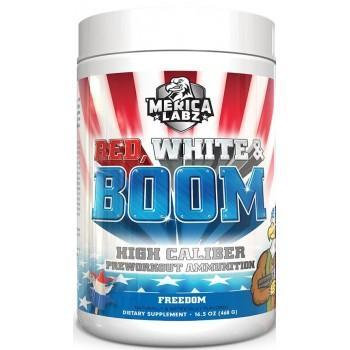 Merica Labz Red, White & Boom 25 servings
