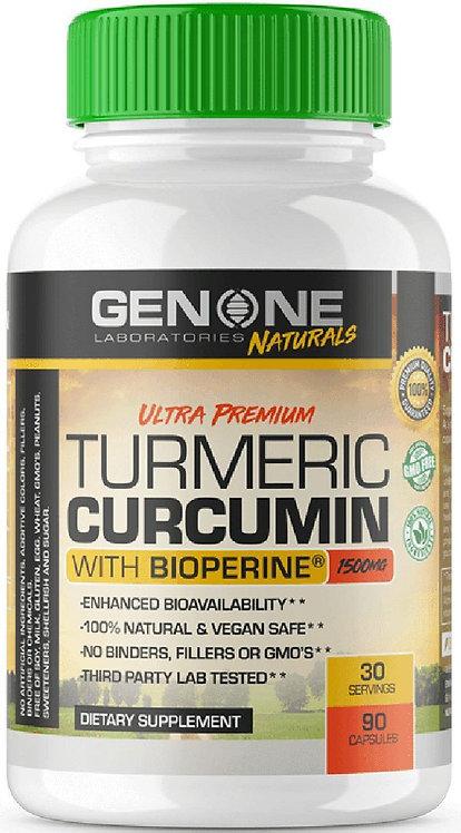 GenOne Labs Ultra Premium Turmeic Curcumin