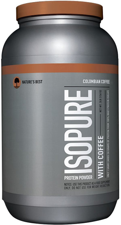 Nature's Best Isopure with Coffee 3 lbs