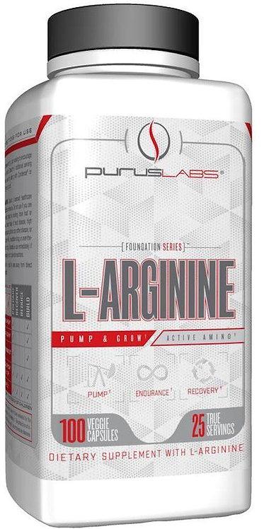 Purus Labs L-Arginine 100 ct