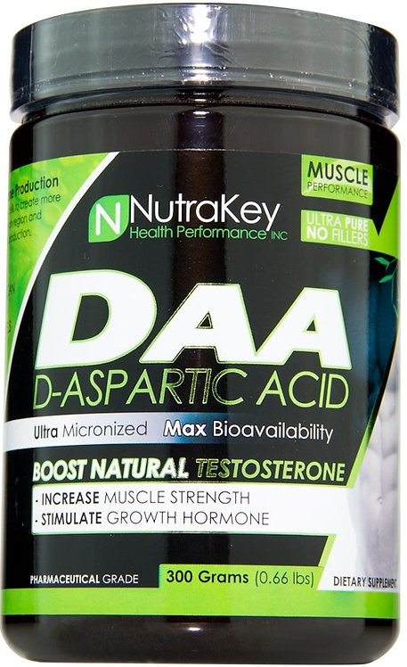 Nutrakey DAA D-Aspartic Acid 300 gms