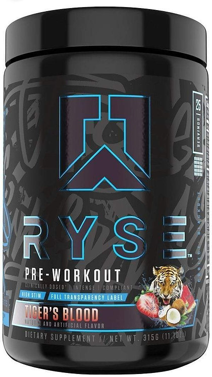 Ryse Supplements Pre-Workout 25 servings