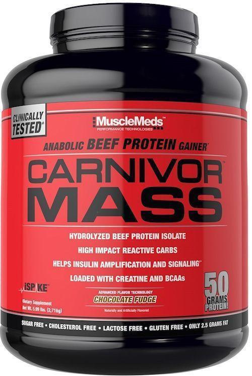 MuscleMeds Carnivor Mass Beef Protein 5.6 Lbs