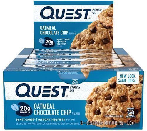 Quest Bars Quest 12 box