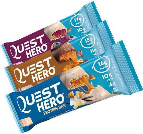 Quest Hero Bars box of 10