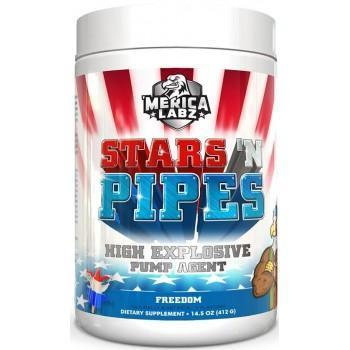 Merica Labz Stars N Pipes 20 Servings