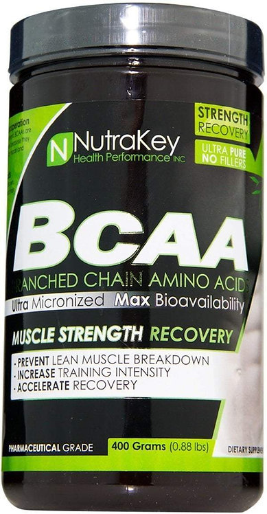 NutraKey BCAA Powder 400 gms