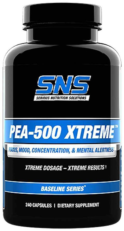 SNS PEA-500 Xtreme 240 caps