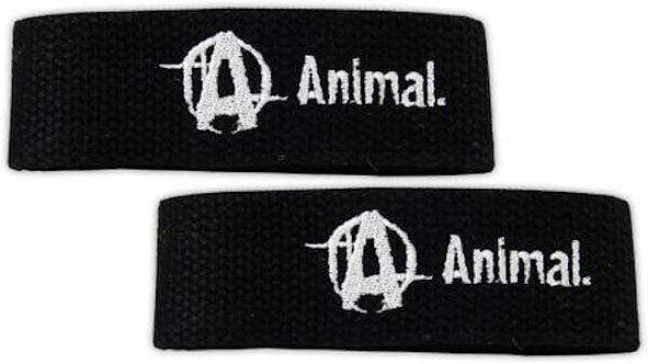 Universal Animal Lifting Straps Black