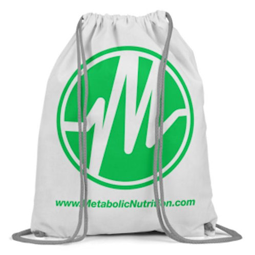 Metabolic Nutrition Drawstring Bag FREE with any Purchase (code: MN)