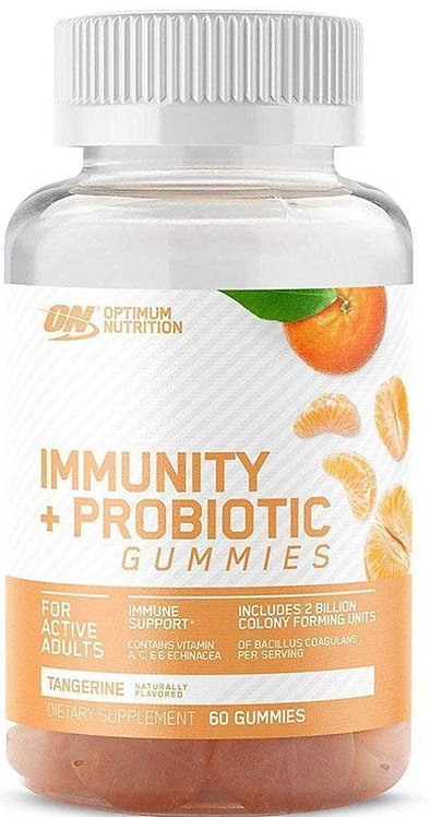 Optimum Nutrition Immunity + Probiotic Gummies 30 servings
