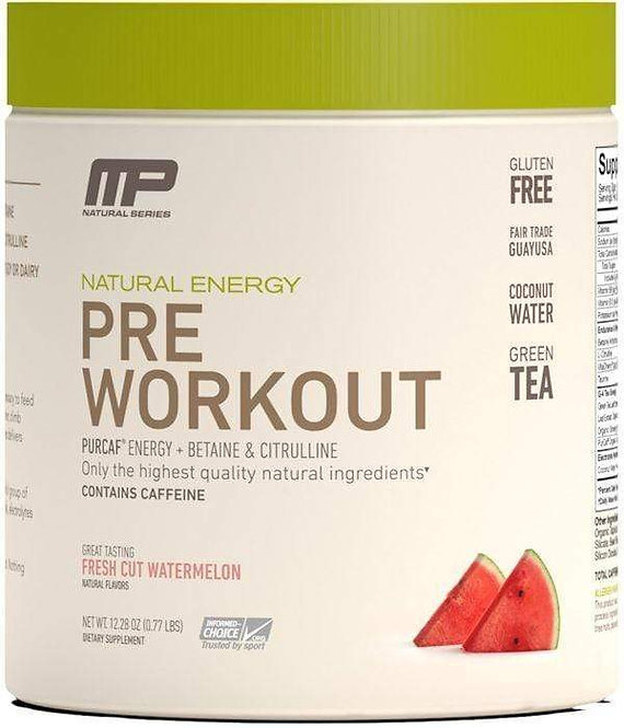 MusclePharm Pre-Workout Natural