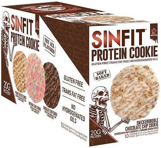 Sinister Labs Sinfit Cookies 10 pack
