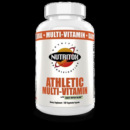 Nutritox Athletic Multi-Vitamin 180 Veg Caps