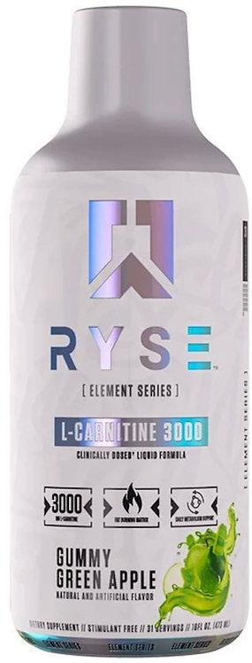 Ryse Supplements Liquid L-Carnitine 3000
