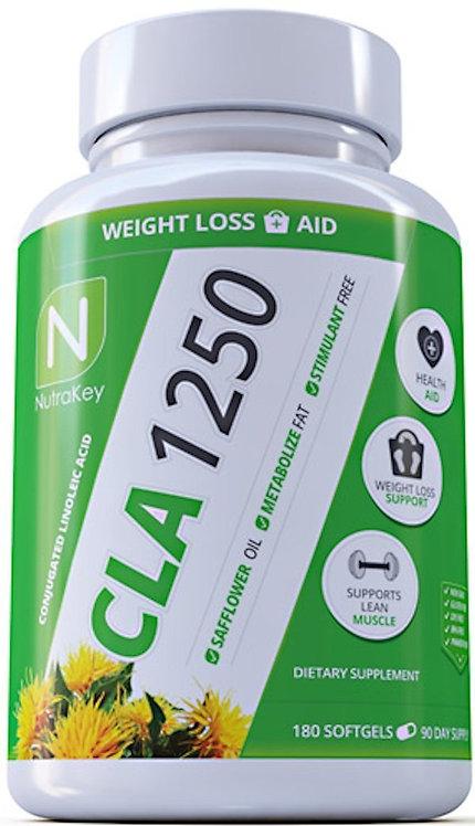 Nutrakey CLA 1250 180 Softgel