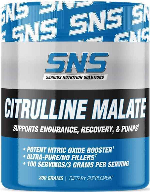 SNS Citrulline Malate Powder 100 servings