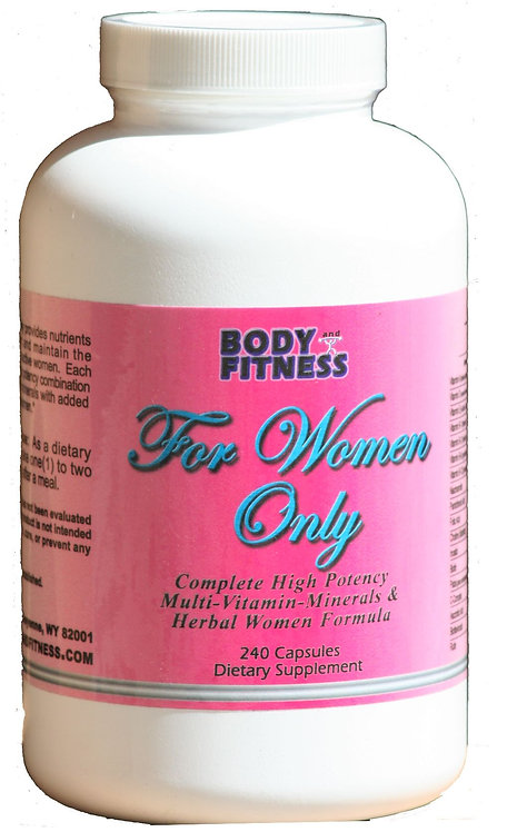Body & Fitness For Women Only