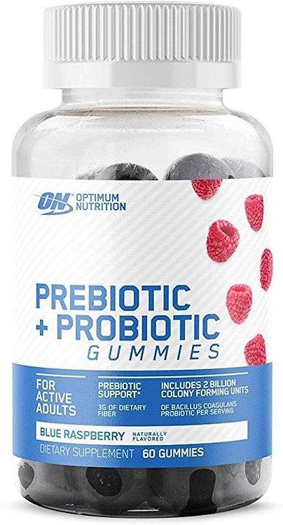 Optimum Nutrition Prebiotic + Probiotic Gummies