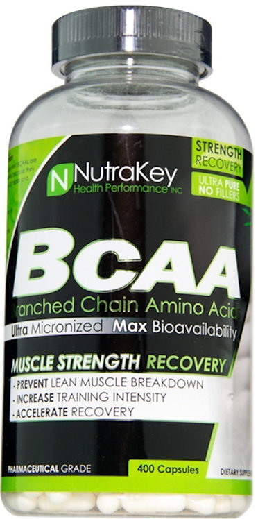 NutraKey BCAA 400 caps