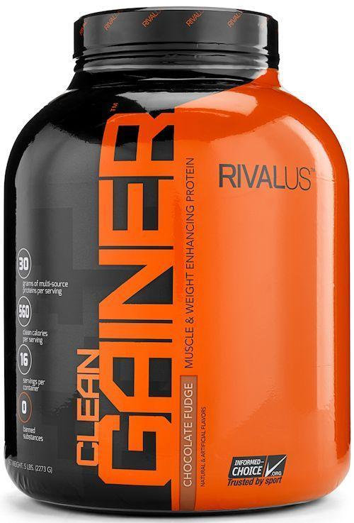 Rivalus Clean Gainer Protein 5lbs