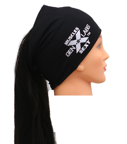 GenXLabs Workout Cotton Hair Beanie
