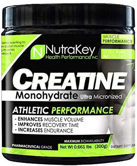 NutraKey Creatine Monohydrate 300 gms