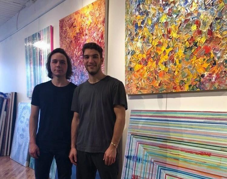Sam Tenenbaum and William Lande of Bidgala