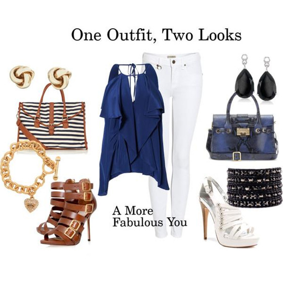 1 Outfit 2 Looks