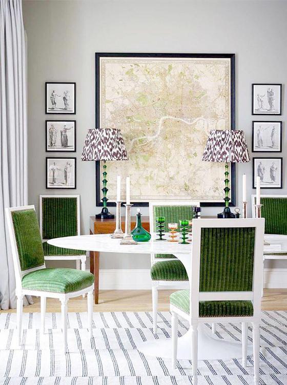 Home Decor Trend 2018:                        Pop of Color